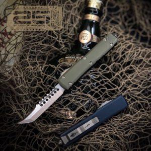Vystřelovací Nůž Microtech Ultratech Hellhound