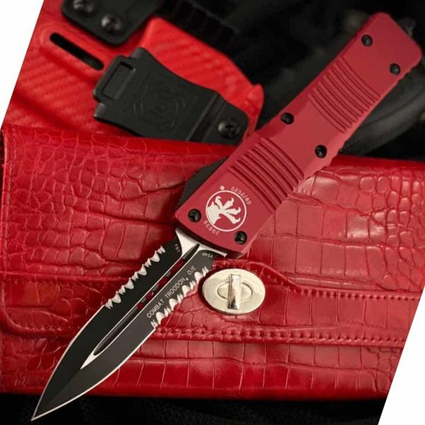 Microtech-Combat-Troodon-Red 142-2RD