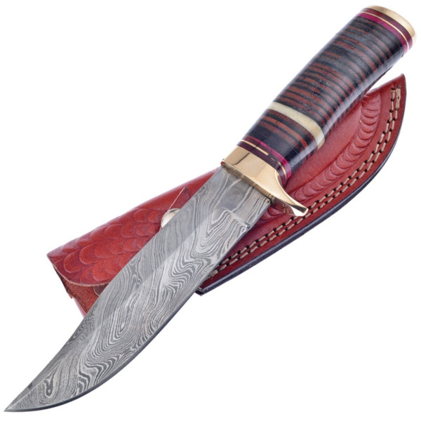 Damascus-Bowie-Stacked-Leather