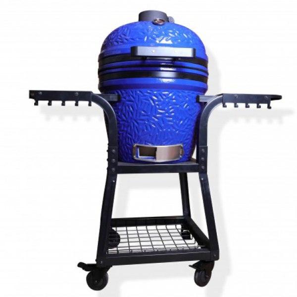 """keramický gril kamado Dellinger Smoke&Fire 22"""" blue"""
