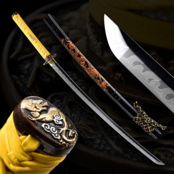 KIIROI Japanese Sword - T-10 Steel