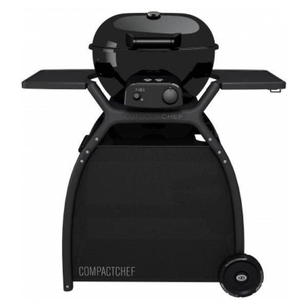 kotlový plynový gril COMPACT CHEF P-480 G Outdoorchef® s vozíkem