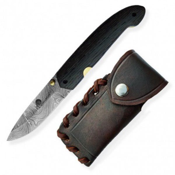 Lovecký zavírací nůž Dellinger Damascus Floki