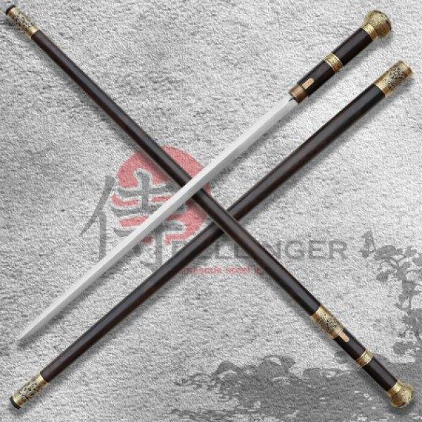 Mansyu Hidden Sword - Vycházková hůl s kordem