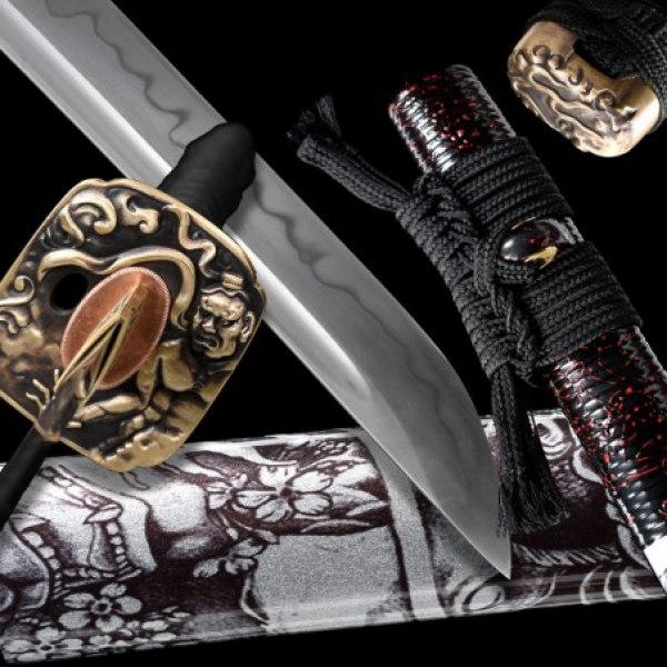 Hanya Japanese Sword - T-10 Steel