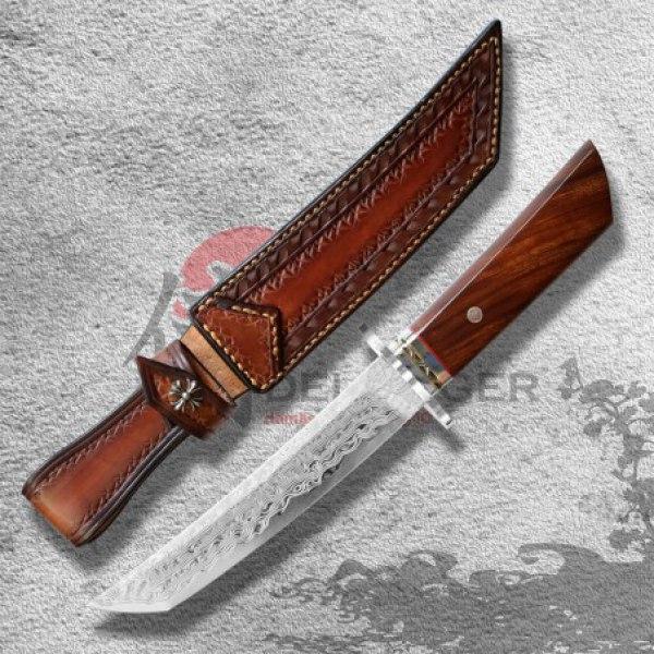 nůž japonský Dellinger Kōgeki Tanto VG-10 Damascus