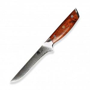 """nůž vykošťovací Boning 6"""" (160mm) Dellinger Rose-Wood Damascus"""
