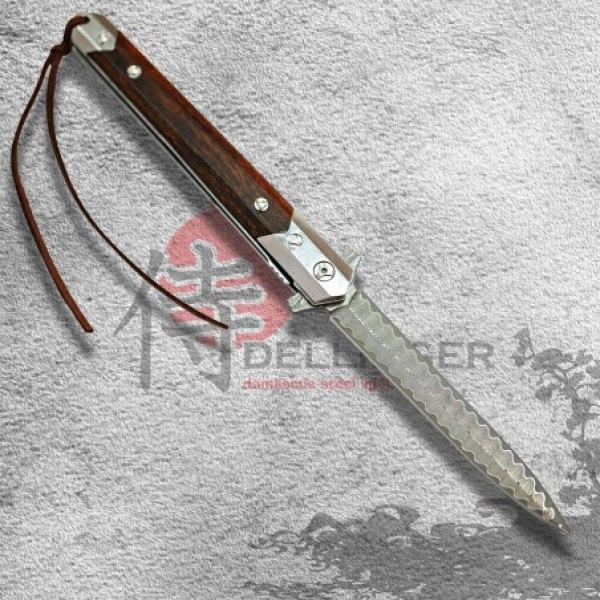 nůž zavírací Dellinger ELEGAN VG-10 Damascus
