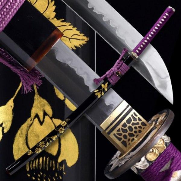 Popī no Hana Japanese Sword - T-10 Steel