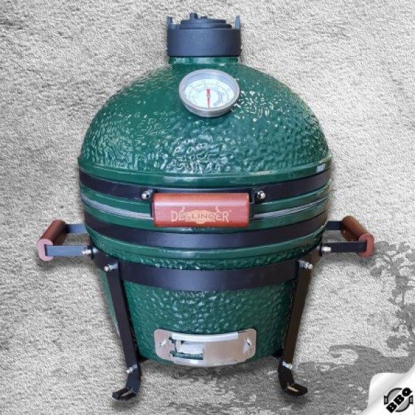 "keramický gril kamado Dellinger Smoke&Fire MINIMAX 16"" zelený"