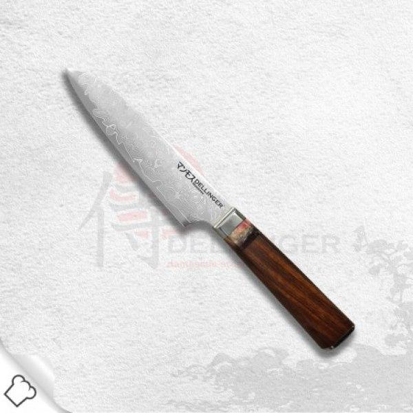 nůž Univerzální Utility 130 mm Dellinger Manmosu - Professional Damascus