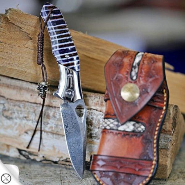 nůž zavírací Dellinger Glasbrint RWL34 Powder