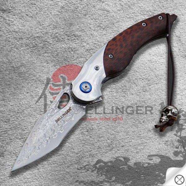 nůž zavírací Dellinger KOZAKANA VG-10 Damascus