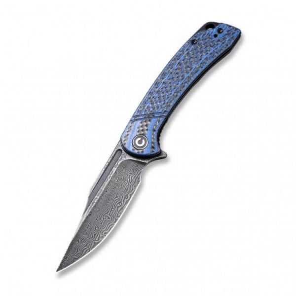 zavírací nůž CIVIVI Dogma - Blue G10 and Carbon Handle
