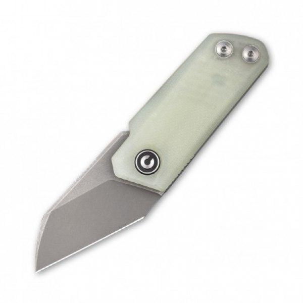 zavírací nůž CIVIVI Ki-V Stonewashed Wharncliffe Blade