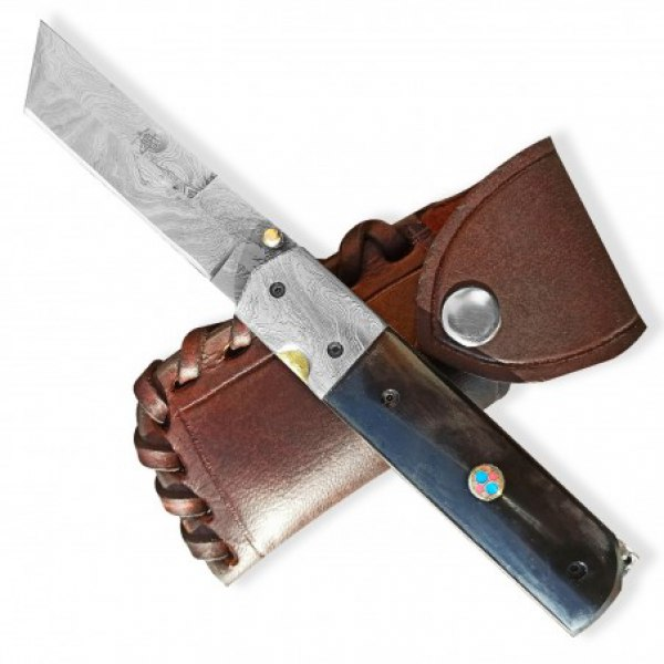 BAZAR Lovecký zavírací damaškový nůž Dellinger TORUNN Tanto