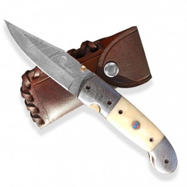 Lovecký zavírací damaškový nůž Dellinger GUNNVOR Clip