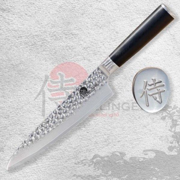 "Gyuto / Chef 8"" (200mm) Dellinger Tsuchime Professional Damascus"
