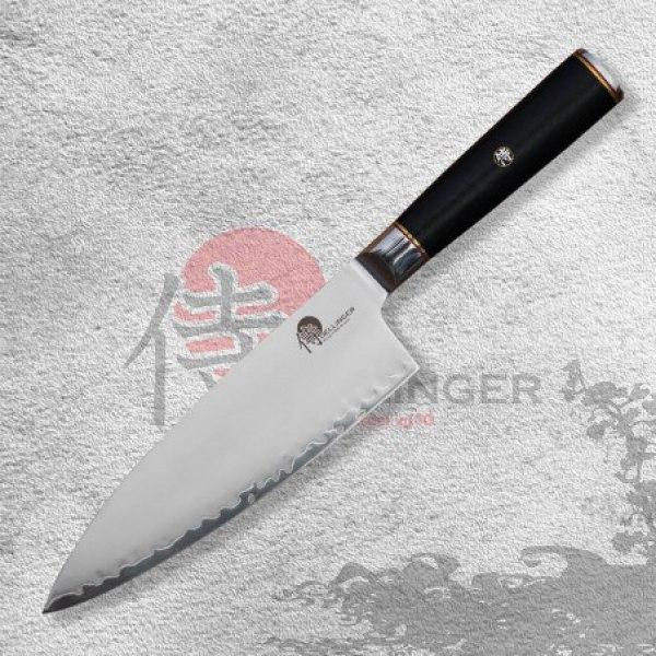 """Japonský kuchařský nůž Gyuto/Big Chef 8"""" (190mm) Dellinger Okami 3 layers AUS10"""