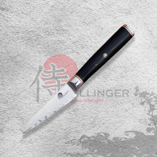 """Japonský kuchařský okrajovací nůž 4"""" (90mm) Dellinger Okami 3 layers AUS10"""