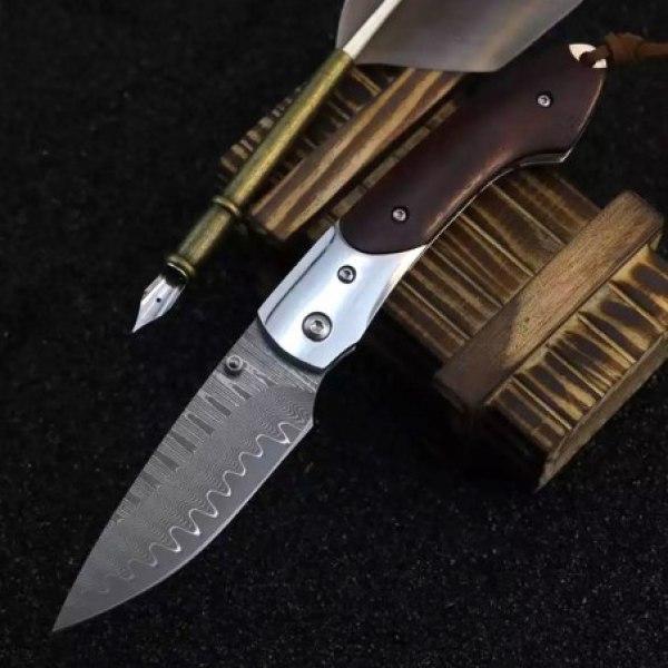 nůž zavírací Dellinger MUSHROOM KILLER vg10 Damascus